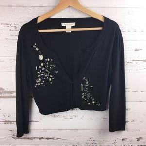 WHITE HOUSE BLACK MARKET Shrug Cardigan Sweater